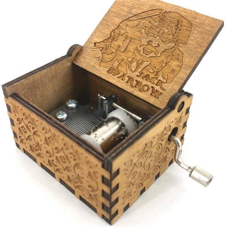 Cuzit Caja de Música de Madera Hecha a Mano, Diseño de Jack ...