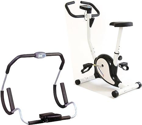 Paquete Gym Master Fitness AB Crunch rodillo con ejercicio ...