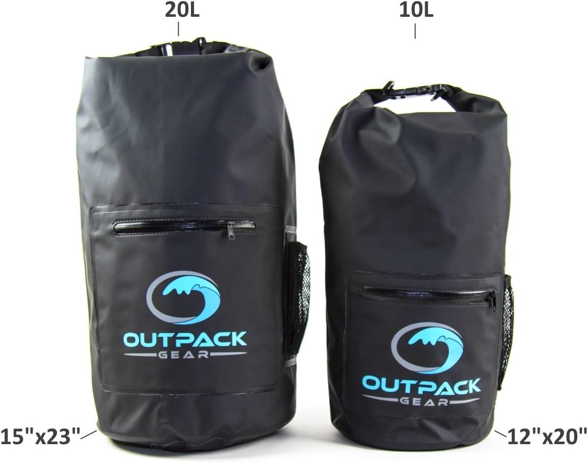 Camping Dry Sack Water Weather Resistant Kayak Hike Bag Pack Tree Leaf 20L