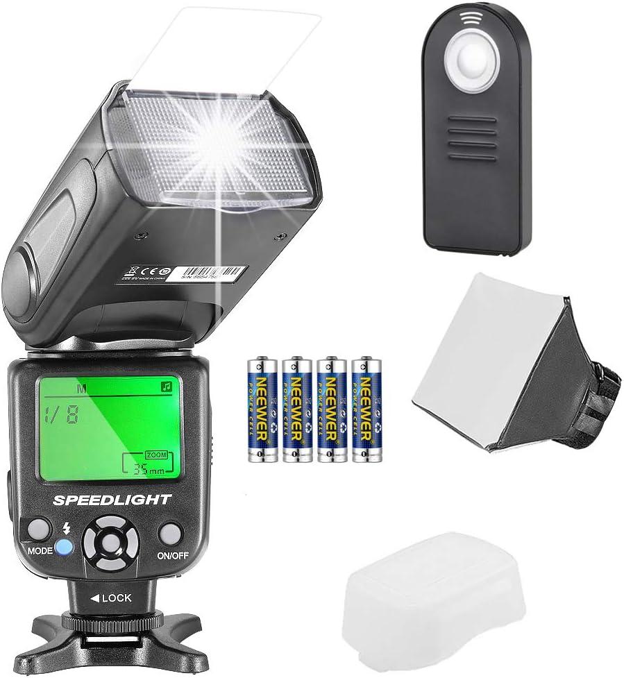 Neewer Nw561 Flashblitz Blitzgerät Set Für Canon Nikon Kamera