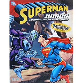 1 SUPERMAN COLORING And ACTIVITY BOOK 2