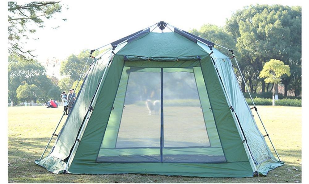 YHKQS-KQS Sommerurlaub Instant Tent Outdoor Camping Sonnenschutz Regenschutz Übergroße Single Skin Strandzelt / Faltzelt mit Tragetasche 300  300  220cm cm