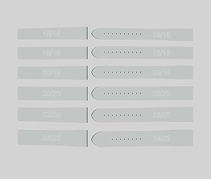 amazon com watch strap template set 12 piece set