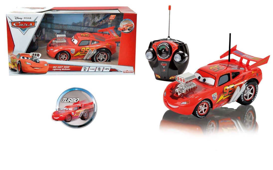 Majorette 213089547 - Hot Rod Mcqueen Radiocontrol Cars: Amazon.es: Juguetes y juegos