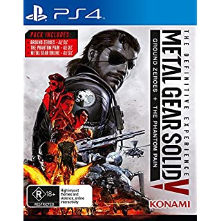Metal Gear Solid V 5 The Definitive Experience (Ground Zeroes + Phantom Pain) PS4 Playstation 4