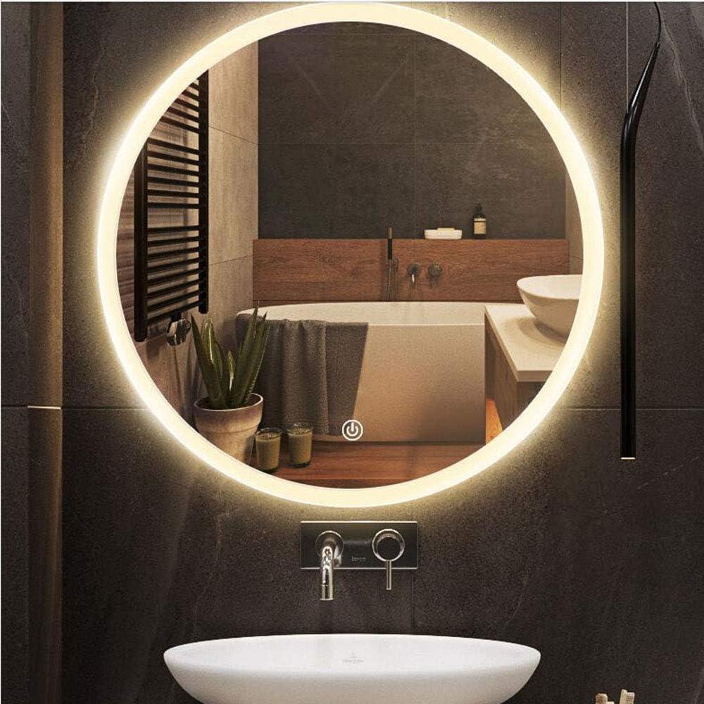 Miroir de salle de bains LED Intelligent, Miroir Lumineux Mural