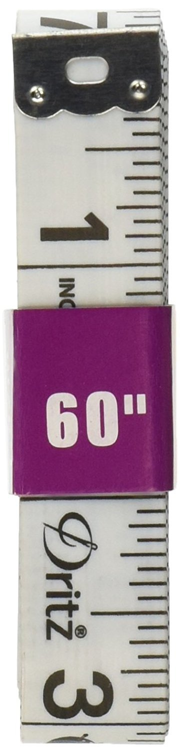 5//8 by 60-Inch ? 1 Pack Dritz Tape Measure for Sewing 2 Pack