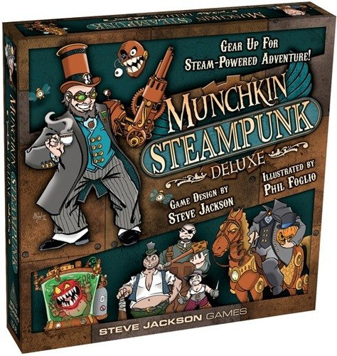 Munchkin Bundle - Steve Jackson Games Munchkin Steampunk Deluxe Card Game