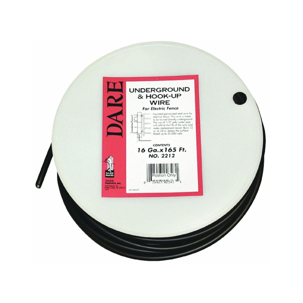 トップ Dare Dare Underground Hook-up & Hook-up Wire by Dare B000LNXSG4 B000LNXSG4, めだま家:a778b783 --- egreensolutions.ca