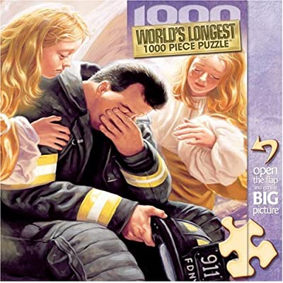 MasterPieces Day the Angels Cried Jumbo 1000pc Puzzle: Toys & Games