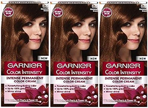 3 x Garnier color intensidad 5,35 canela marrón – Color Tinte ...