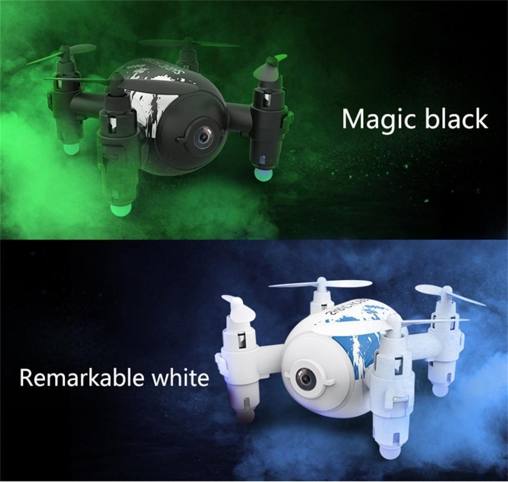 LCLrute Hohe Qualität Qualität Qualität 6CM SH10 Mini Drone mit 0.3MP Kamera HD Quadcopter 6AXIS RC Hubschrauber Selfie Drone (Schwarz) 79e2f6
