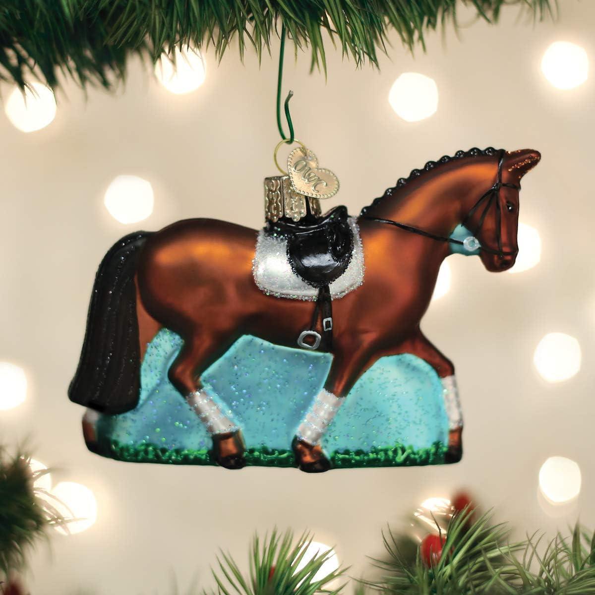 Old World Christmas Dressage Horse