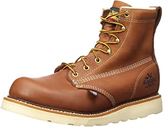 """product image for Thorogood Men's American Heritage 6"""" Tobacco Plain Toe, MAXWear Wedge Non-Safety Toe Boot"""