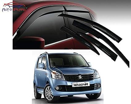 552f3911e Image Unavailable. Image not available for. Colour: Auto Pearl Car Side  Window Visor for Maruti Suzuki Wagon R (Set of 4)