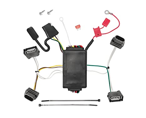 Pleasant Amazon Com Tekonsha 118556 T One Connector Assembly With Upgraded Wiring Database Gramgelartorg