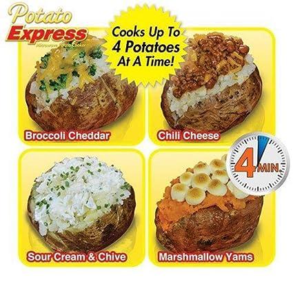 Amazon.com: Microwave Potato Bag, HomeYoo Baked Potato ...
