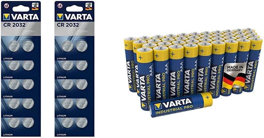 Varta Cr2032 Lithium Knopfzellen 3v Batterie In Elektronik