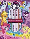 My Little Pony : Coffret en 12 volumes : Princesse Celestia ; Rarity ; Fluttershy ; Pinkie Pie ; Rainbow Dash ; Applejack ; Les chercheuses de talent ... Les compagnons des poneys ; Bébé Flurry Heart