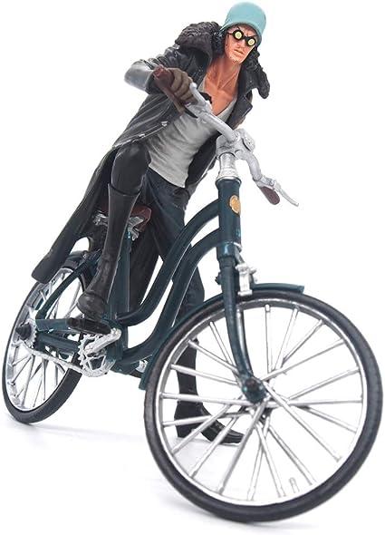 XXFFD Juguetes for niños One Piece King Navy Bicicleta Modelo ...