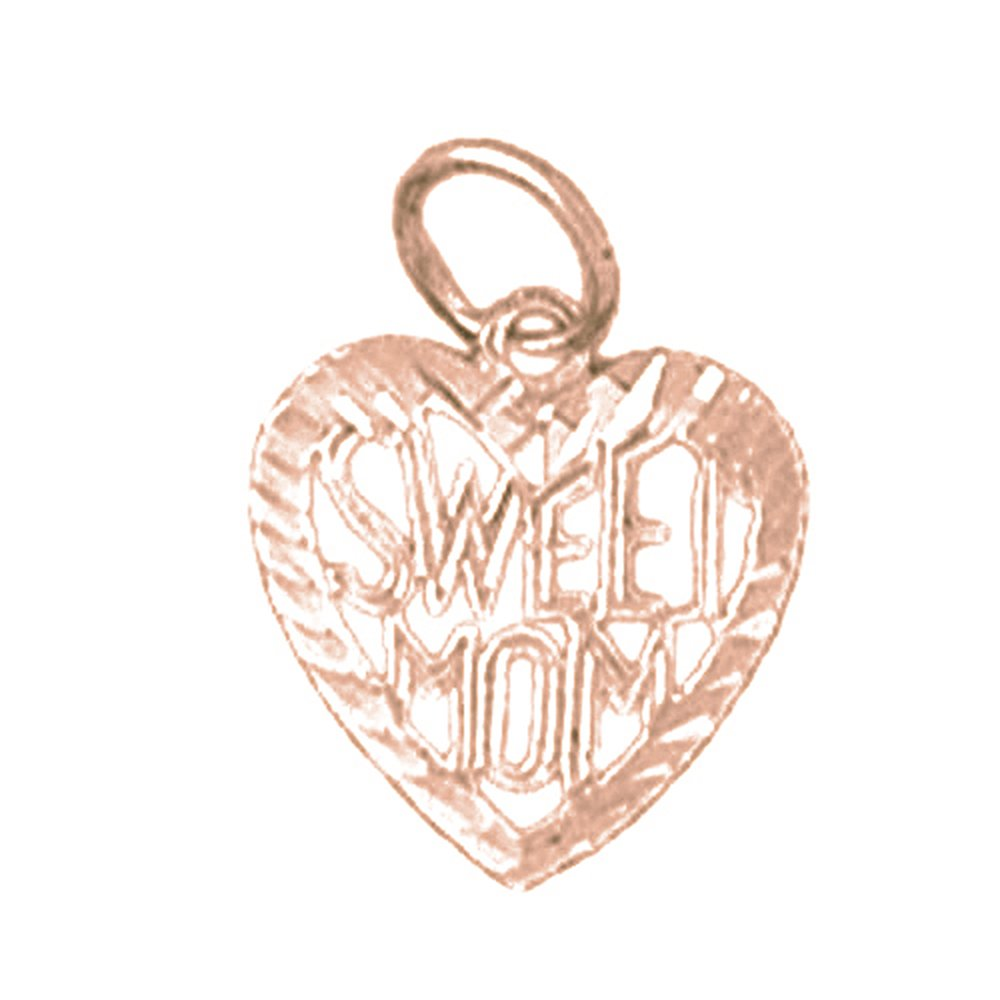 Jewels Obsession I Love My Dad Necklace 14K Rose Gold-plated 925 Silver I Love My Dad Pendant with 16 Necklace