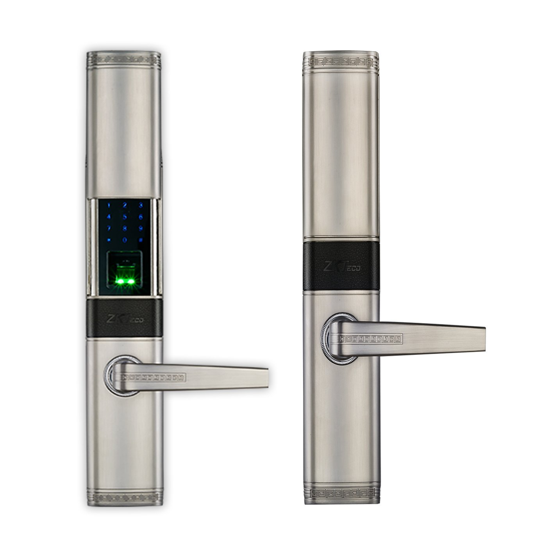 ZKTeco Vintage Fingerprint Door Lock Keyless Keypad Locks with 5pcs RFID Cards Smart Home Entry, Left Handed by ZKTeco