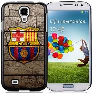 Unique DIY Designed Case For Samsung Galaxy S4 I9500 i337 M919 i545 r970 l720 With Soccer Club Barcelona 10 Football Logo Cell Phone Case