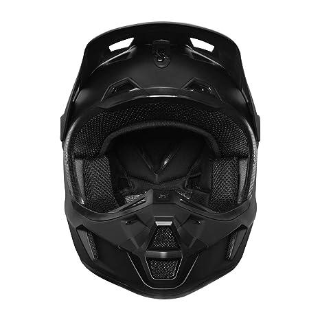 Fox 2019 V2 - Casco de Motocross para Adulto (Talla Grande, 59-60 cm), Color Negro Mate: Amazon.es: Deportes y aire libre