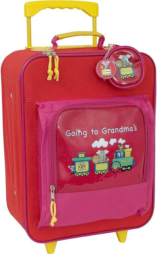 Mercury Luggage Children s Going to Grandma s Wheeled Upright