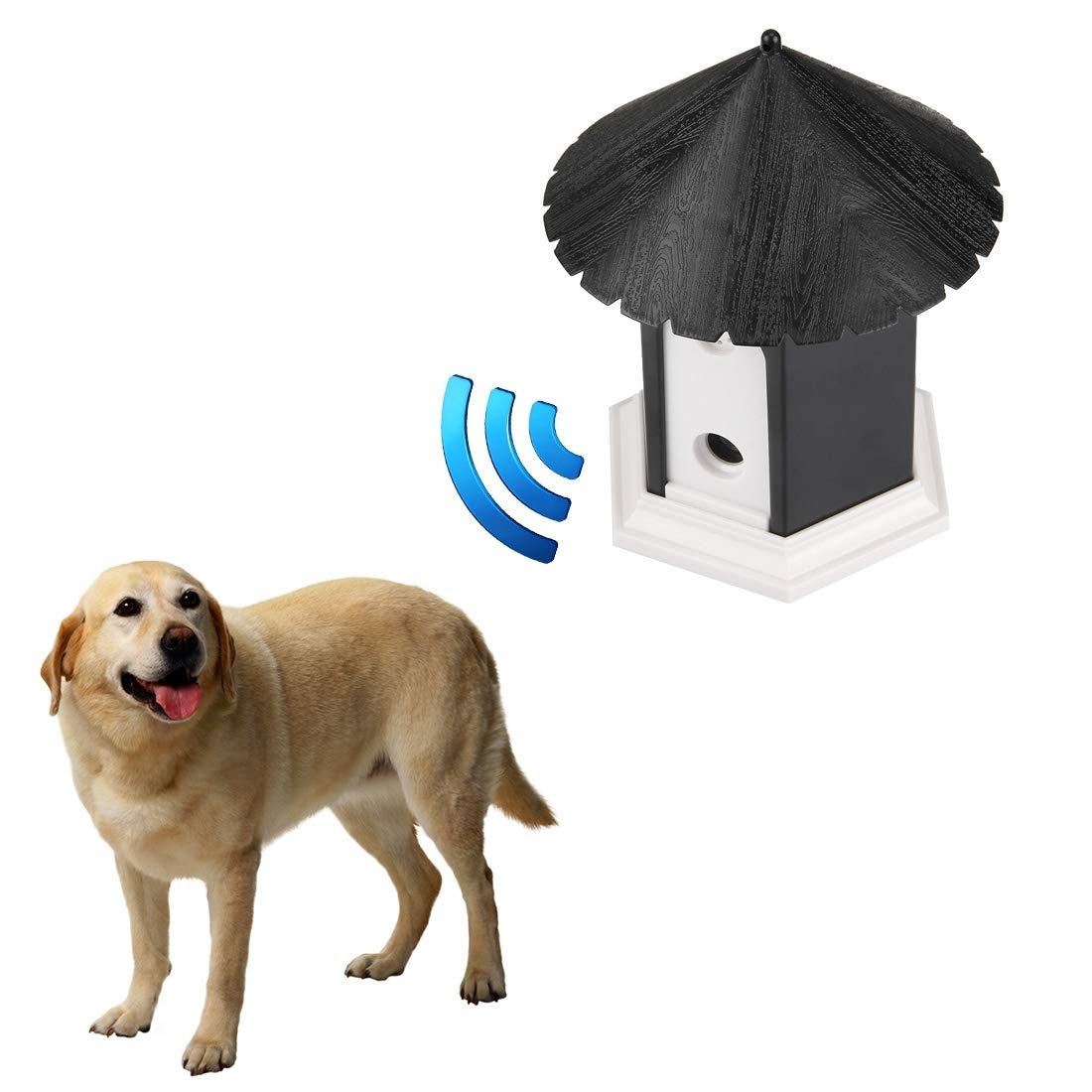 VAXT Lead Removed Pet Dog Outdoor Bark Control Training House by VAXT (Image #9)