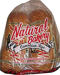 Amazon.com : Natural Bakery Canadian Rye Bread - 2x900g