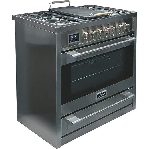 baskets pour pas cher ec35e 6310b Kaiser HGE 93505 R Gaz Electrique Cuisinière 90cm/Four ...