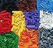 DreambuilderToy Building Bricks 1030 Pieces Set, 1000 Basic Building Blocks in 10 popular colors,30 bonus fun Pieces includes Wheels, Doors, Windows, Compatible to All Major brands