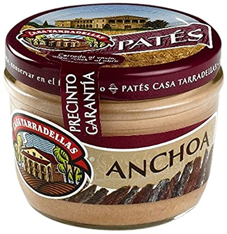 Casa Tarradellas Paté Anchoa - 125 g: Amazon.es: Amazon Pantry