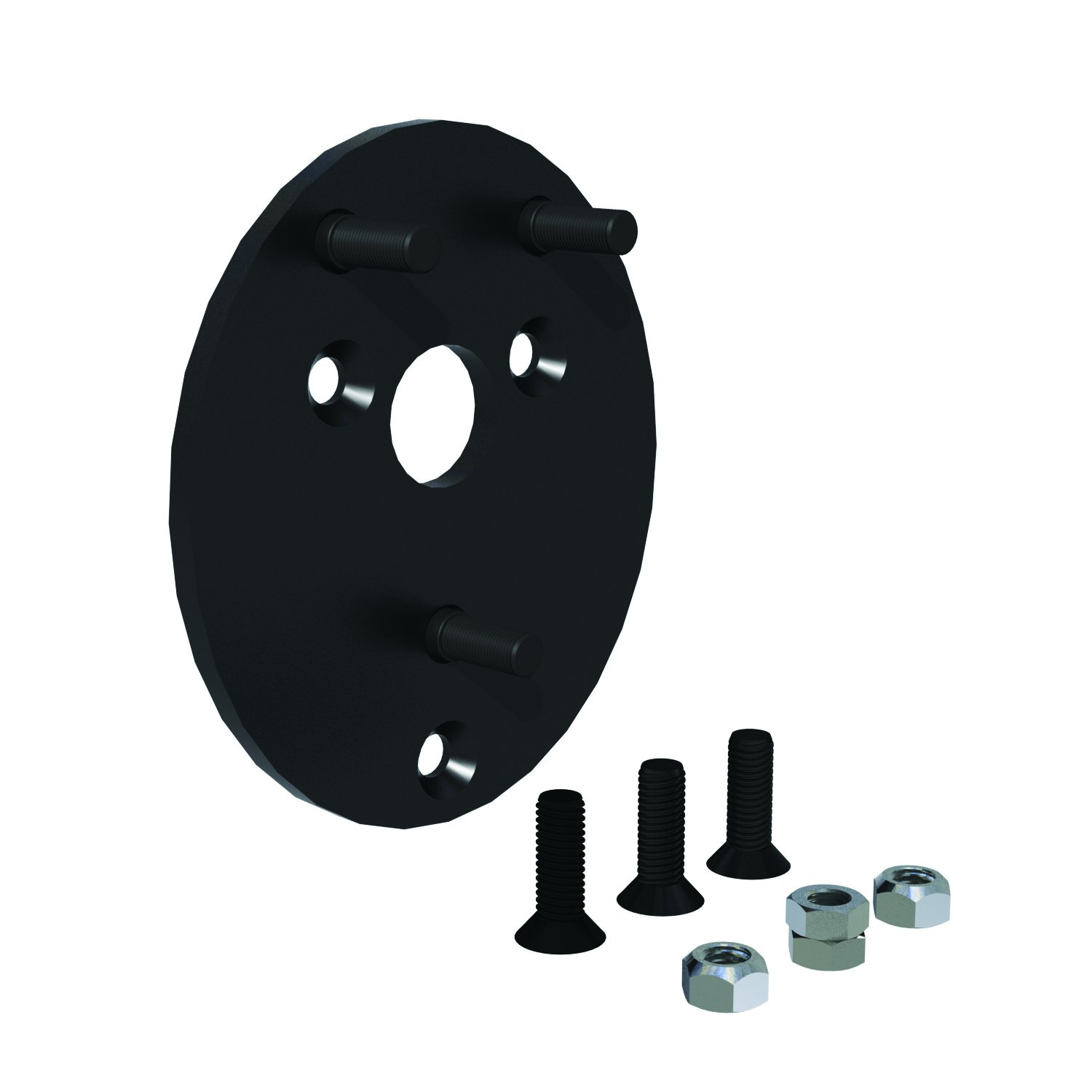 Teraflex 4904200 JK Spare Tire 1.5 Raised Extension Plate Kit