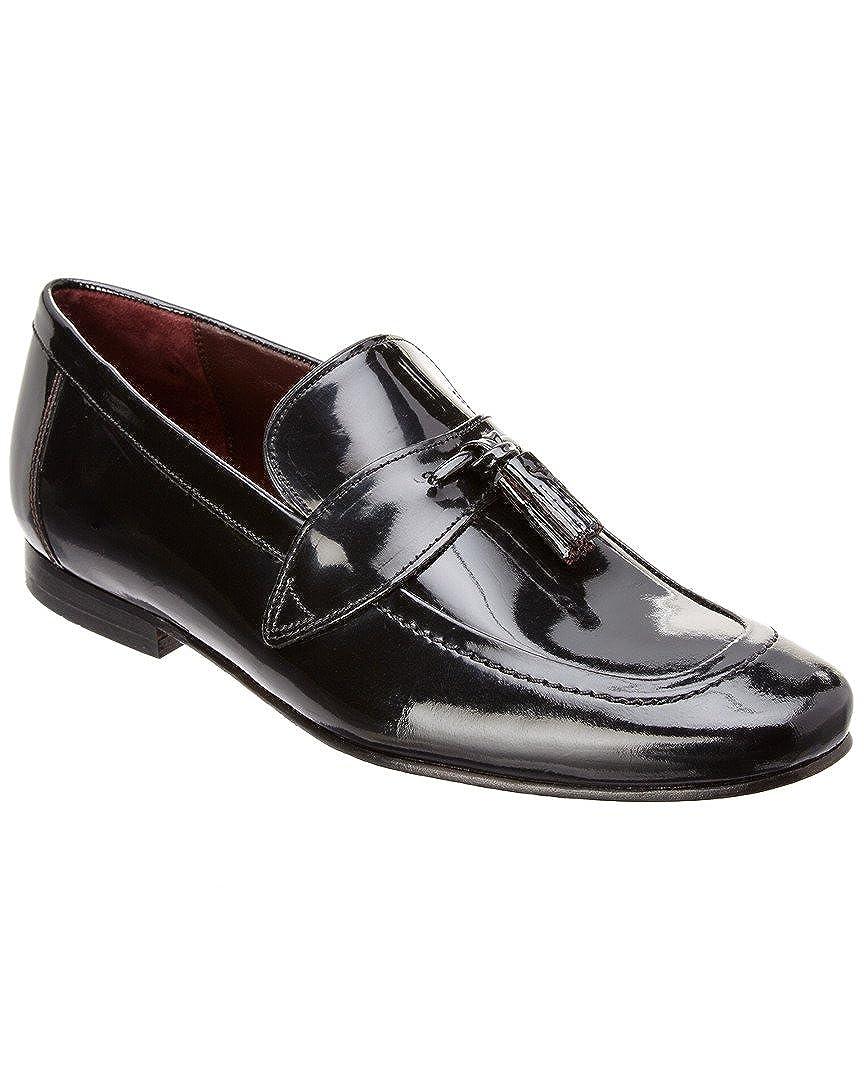 581cff7475a10 Amazon.com: Ted Baker Men's Grafit Patent Leather Formal Tassel Slip ...