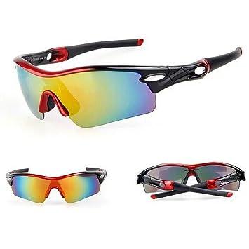 Deportivas gafas de sol polarizadas con 5 lentes intercambiables UV400 protección deportes gafas de sol para