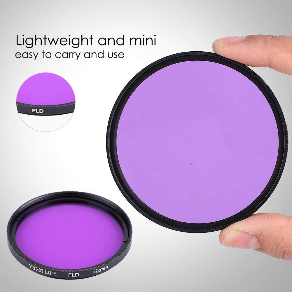 82mm // 3.23inch Multiple Camera FLD Filter Professional FLD Filter Purple