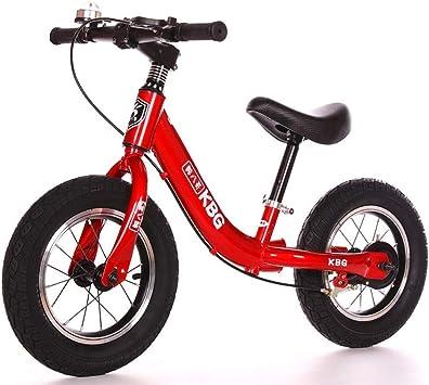 Bicicleta de Equilibrio for Niños Cuadro de Acero Al Carbono Freestyle Bicicleta for Niños Sin Pedal for Niños Bicicleta for Caminar Bicicleta de Entrenamiento for ...