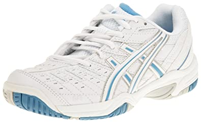 ASICS , Tennis Extérieur femme Blanc WhitePlatinum
