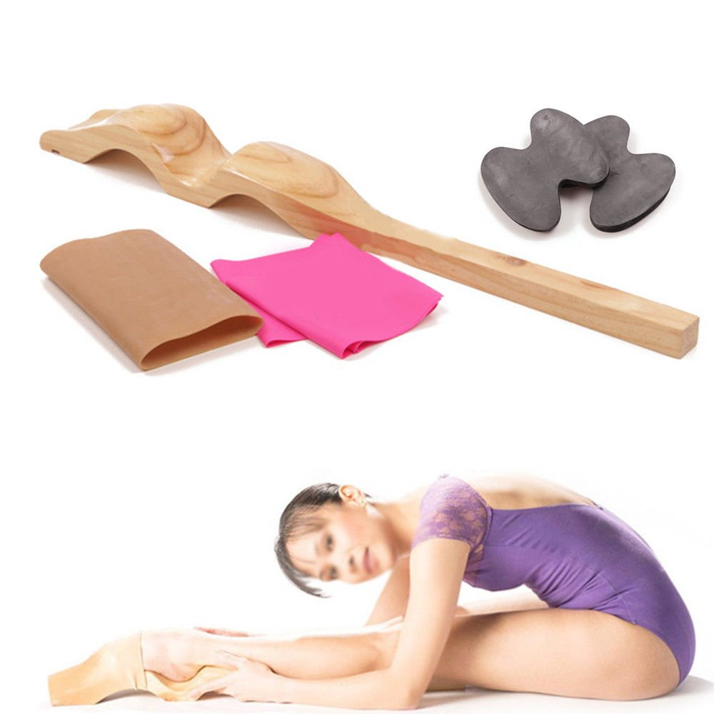GADE10 Wooden Ballet Foot Stretcher Detachable Dance Feet Gift for Ballet Dancers Gymnastics Cheer Yoga by GADE10