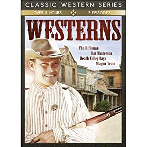 TV Classic Westerns: Bat Masterson/Death Valley Days/The Rifleman/Wagon from Echo Bridge Home Entertainment