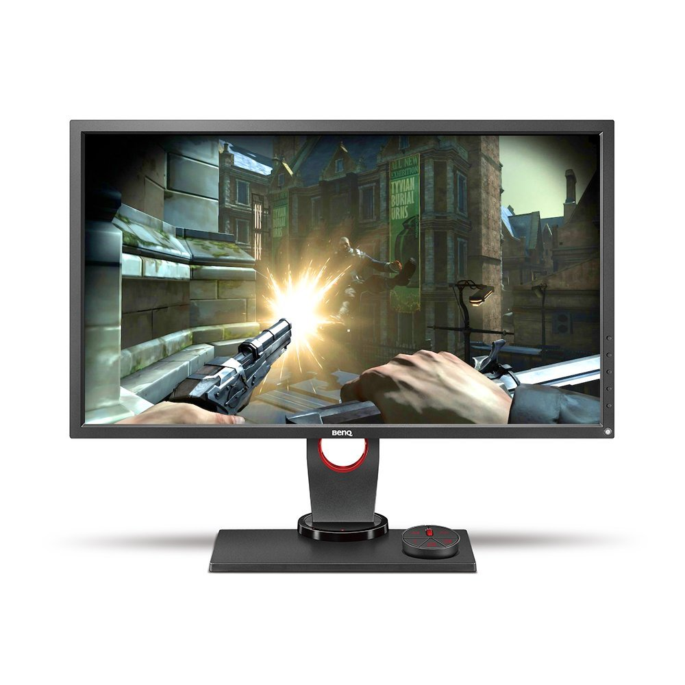 Ben Q Zowie 27 Inch 144 Hz E Sports Gaming Monitor, 1440p, 1ms Response Time, Black E Qualizer, Color Vibrance, S Switch, Height Adjustable (Xl2730) by Ben Q