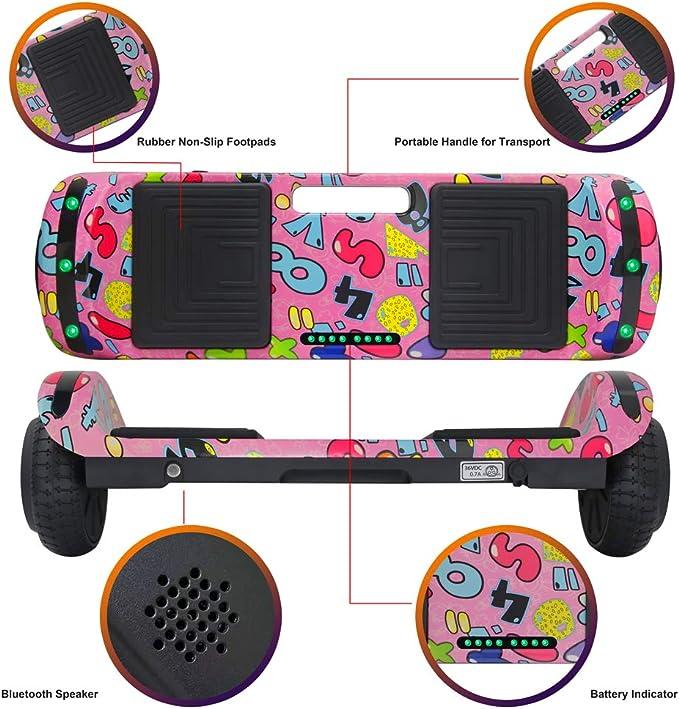 Amazon.com: Massimo - Patinete para niñas de 6.5 in con ...