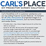Carl's FlexiWhite Projector Screen Material