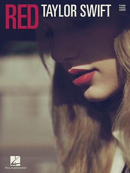 Amazon.com: Cascio Taylor Swift G Red-Piano/Vocal/Guitar Artist ...