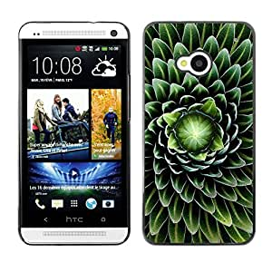 Stuss Case / Funda Carcasa protectora - The Seduction Of Green Flowers - HTC One M7