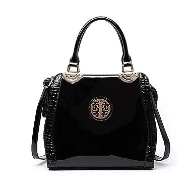 8b0d36cb LeahWard® Women's Fashion Tote Bags Quality Faux Leather Shoulder Bag  Handbags For Women CW50