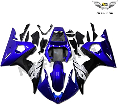 NT FAIRING Matte Black Blue Injection Mold Fairing Fit for Yamaha 2006 2007 YZF R6 New Painted Kit ABS Plastic Motorcycle Bodywork Aftermarket