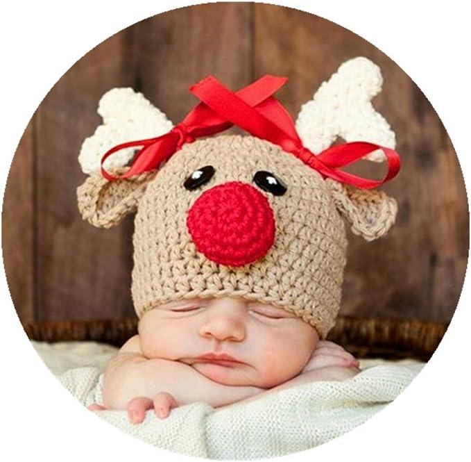 Amazon.com: Bebé recién nacido Photo Props Outfits Crochet ...